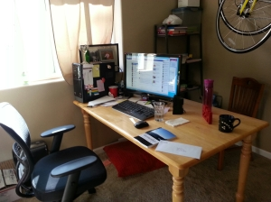 Where the magic happens - My office